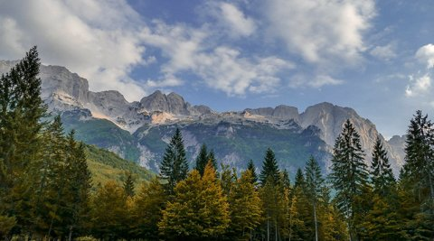Valbona Nation Park
